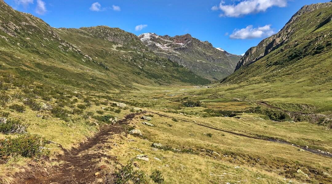 Neuer Trail im Verwalltal
